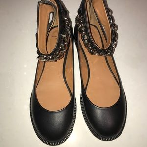 Chain 37 Strap Ankle Shoes Flats Ballerina Givenchy Poshmark 6qw1pBn